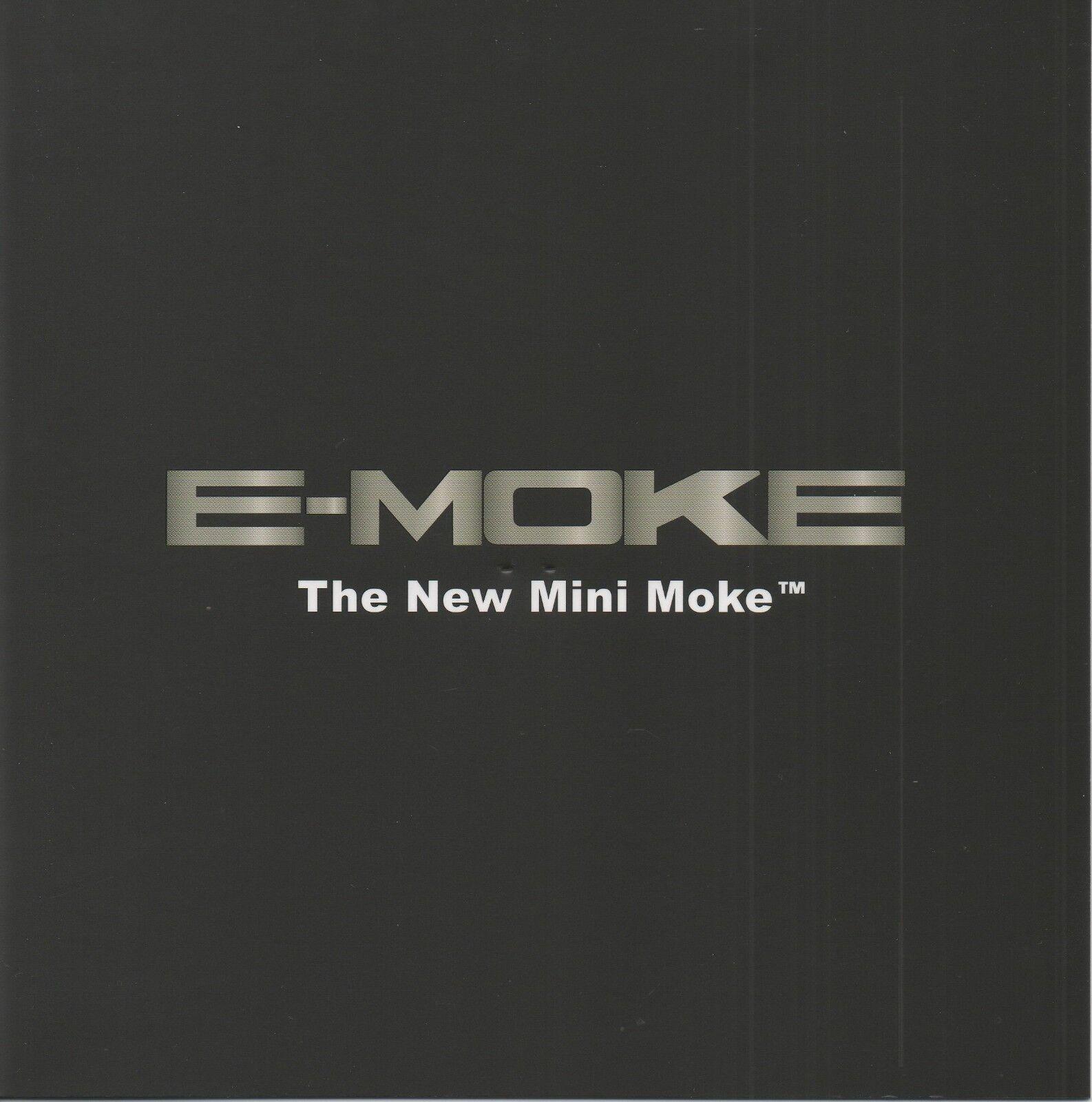 Moke & E-Moke car range (made in France)_Paris Motor Show 2018_Prospekt Brochure