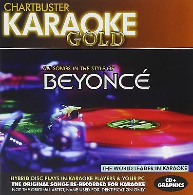 Karaoke Gold  Songs In The Style Of Beyonce  Cd