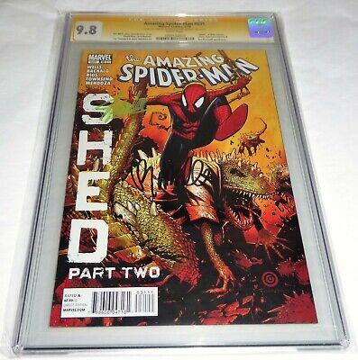 "Amazing Spider-Man #631 CGC SS Signature Signed STAN LEE ""Death"" Lizard Kaine 🔥"
