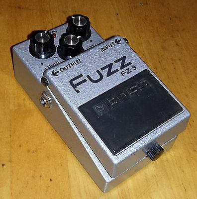 Boss FZ-3 Fuzz Guitar Effects Pedal