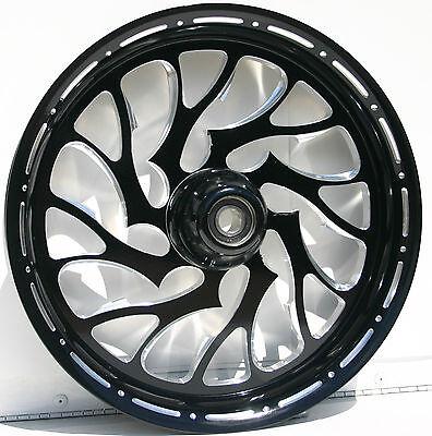 """Kawasaki ZX14 Ninja Custom  Wheels """" The Nightmare"""" by FTD Customs"""