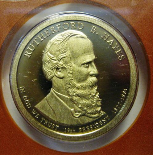 2011-S Rutherford B Hayes DCAM Proof Presidential Dollar Bargain Priced FREE S&H