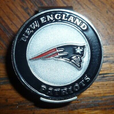 New England Patriots 2 sided Golf Ball marker 1