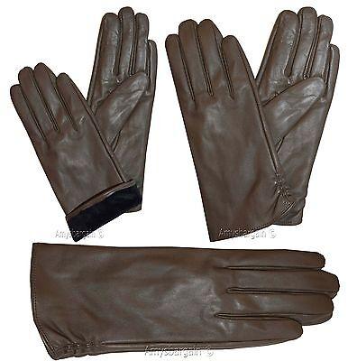 Leder Handschuhe Damen Größe S Winter Kleid Neu