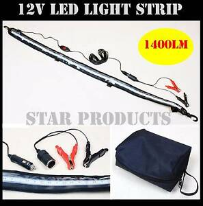 1.2M LED Flexible Light Strip WHITE Camping 12V 14W 1400LM Camp Malaga Swan Area Preview