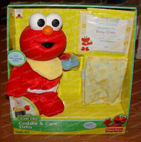 Cuddle & Care Elmo (Playskool, Sesame Street, N4660) 2008, Mattel