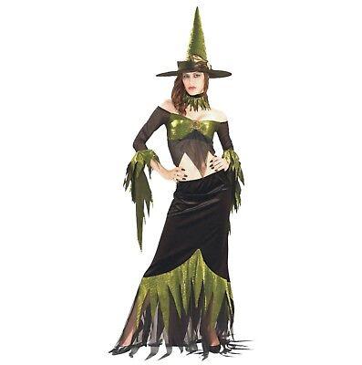 Halloween Karneval Fasching Kostüm Grüne Hexe Sexy S (Halloween Kostüme Grün)