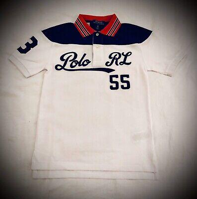 Haut T-shirt de Marque, Polo Ralph Lauren Authentique, Garçon, taille S/P (8ans)