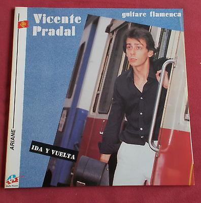 VICENTE PRADAL LP ORIG FR  IDA Y VUELTA  GUITARE FLAMENCA