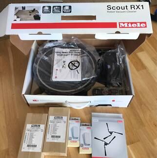 BRAND NEW! ! Black MIELE Scout RX1 - Robot Vacuum