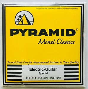 Pyramid Monel Classics Electric Guitar Strings gauges 11-48