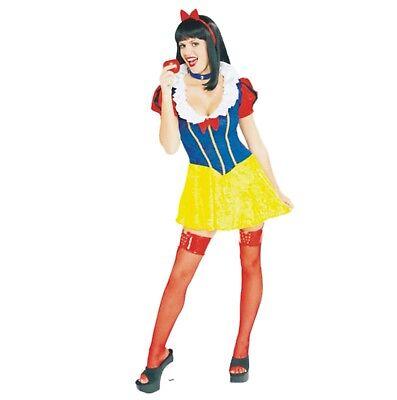 Halloween Karneval Kostüm Märchen Schneewittchen Snow White Sexy S