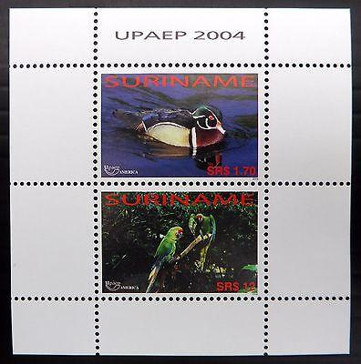 SURINAME Birds M/Sheet MS2063 U/M NB638