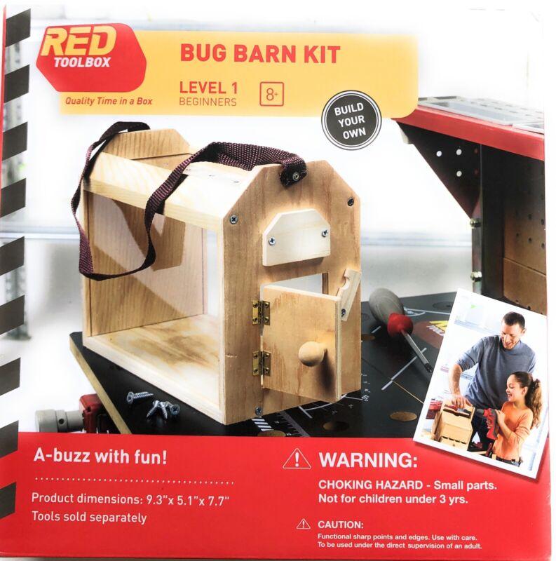 Red Toolbox Bug Barn Carpentry Kit Level 1