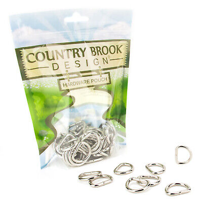 25-Country Brook Design 3/4 Inch Welded D-Rings - $7.95
