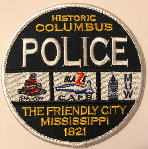 Columbus Police Lowndes County Mississippi MS Patch