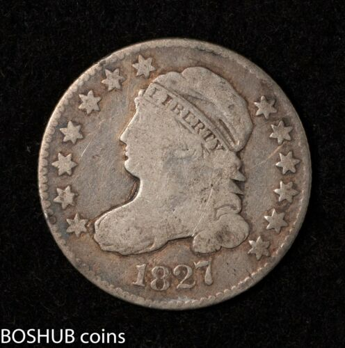1827 Capped Bust Dime 10c