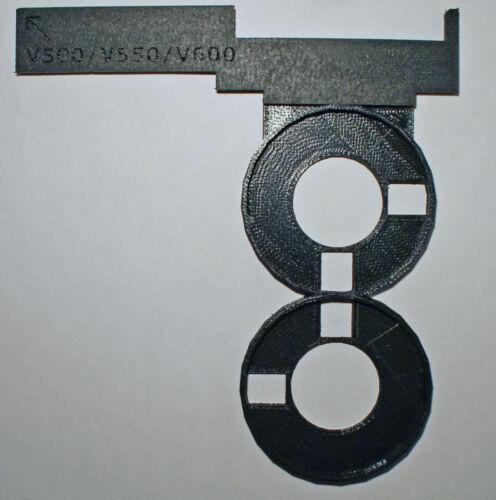 Kodak Disc film adapter made for Epson Perfection V500, V550 and V600 scanners