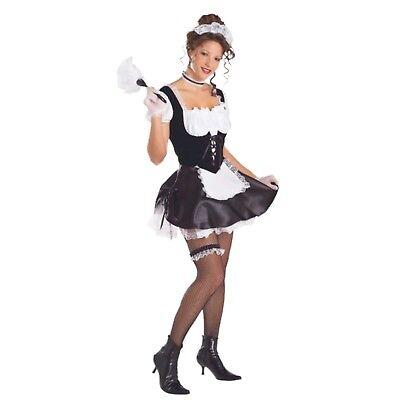 Halloween Karneval Fasching Kostüm French Maid Stubenmädchen Sexy M