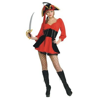 Halloween Karneval Kostüm Piratenbraut Schürung Piratin Pirate Wench Sexy (Pirate Wench Kostüm)