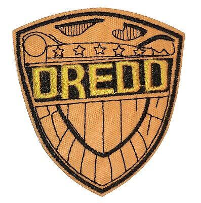 Judge Dredd Logo - Uniform Patch - Kostüm Aufnäher zum Aufbügeln neu
