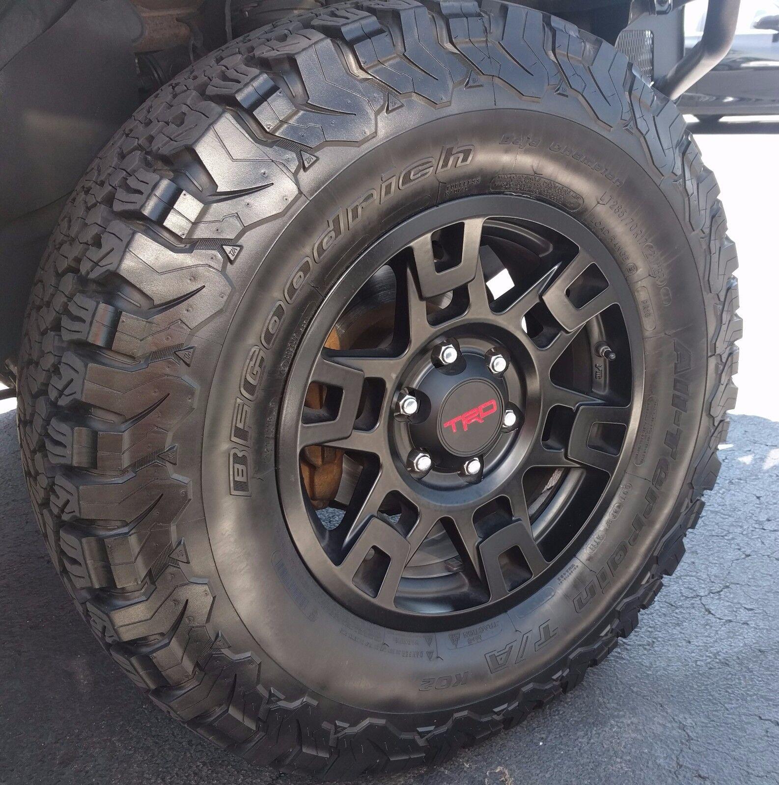 """17"""" Black TRD Pro SEMA Wheel Toyota Tacoma, 4Runner, & FJ ..."""