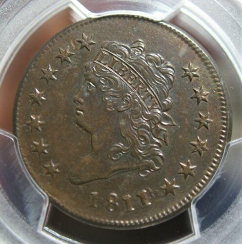 1811/0 Classic Head Large Cent S-286 PCGS AU Details
