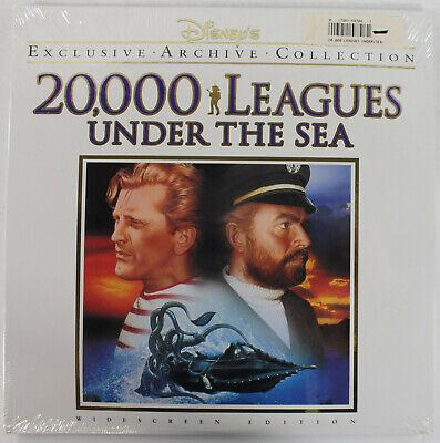 Disney's 20,000 Leagues Under the Sea - 1954 Sci-Fi - LASERDISC - NEW~!!