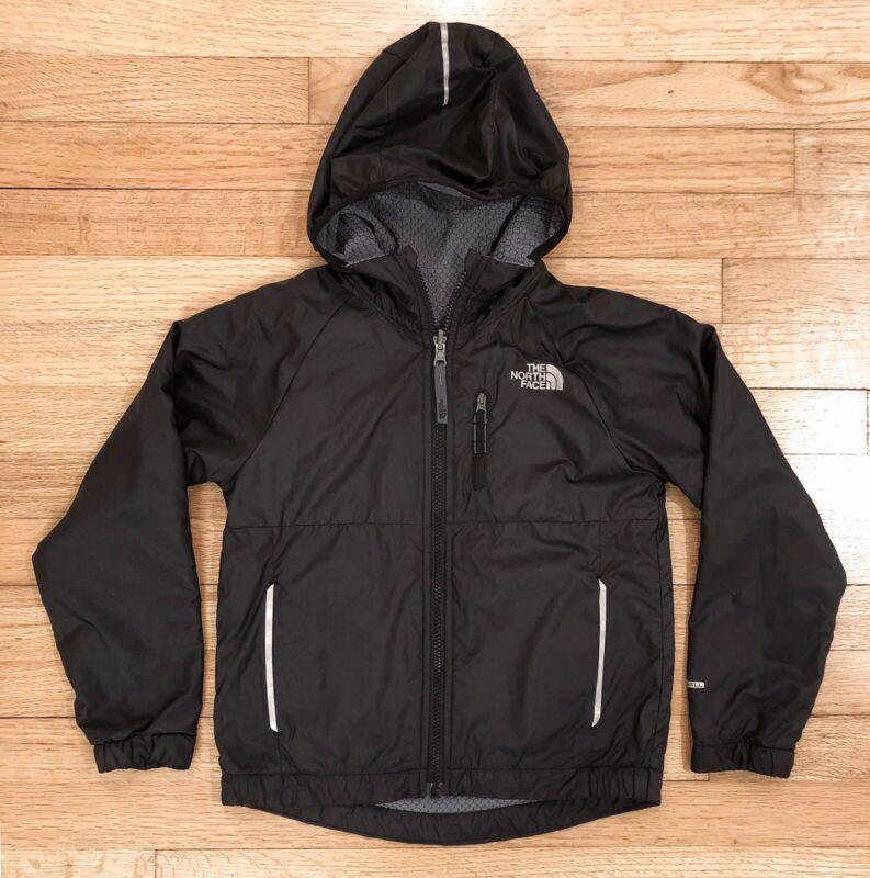 North Face Windwall Breezeway Boy's XS Youth Reversible Windbreaker Jacket Black