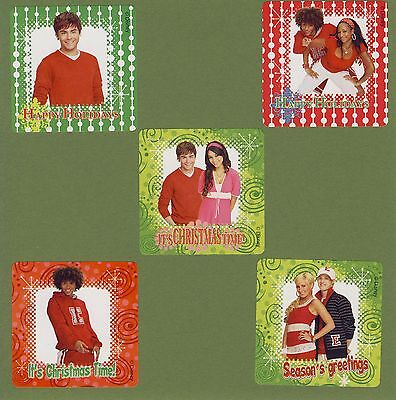 15 High School Musical Christmas Holiday - Large Stickers - Zac Efron, Hudgens ()