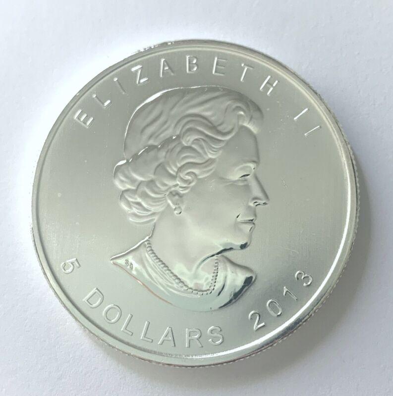 2013 Canada Silver Maple Leaf BU 1 Oz. Coin 25th Anniversary