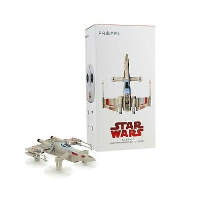 Propel Star Wars T-65 X-Wing Battle Drone W/ Real Lasers and App for Android/iOS