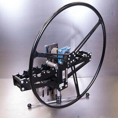 Heavy Duty Ring Roller Box Flat Tube Bender Metal Bender Round Hand Wheel