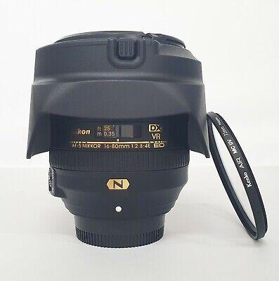 # Nikon AF-S 16-80mm f 2.8-4E Nikkor DX ED VR Wide Zoom Lens s/n 207207