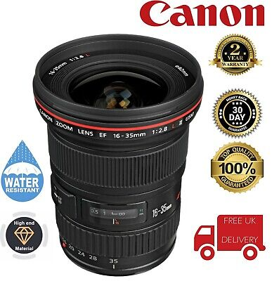 Canon 16-35mm F2.8L EF Mark II USM Lens 1910B002 (UK Stock) segunda mano  Embacar hacia Spain