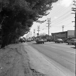 Vintage 1950s Car Accident On Ventura Blvd Sherman Oaks California Photo #1191
