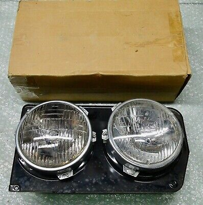 TC MK3 CORTINA XLE GXL GT GENUINE FORD NOS COMPLETE R/H DUAL HEADLAMP ASSY
