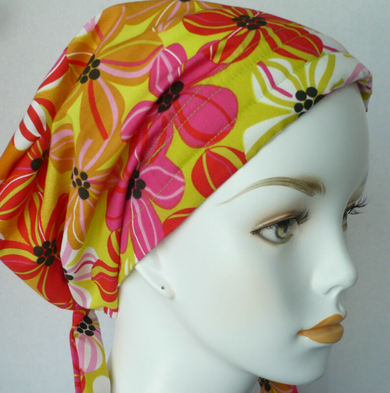 Cancer Chemo Hair Scarf Hat Cotton Turban Headwrap Cap Alopecia Bad Hair Day Hat