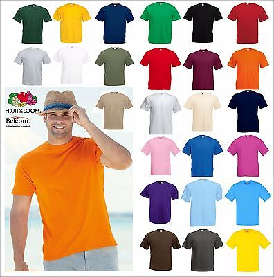SET 5 PEZZI MAGLIETTA MANICHE CORTE UOMO FRUIT OF THE LOOM VALUEWEIGHT T- SHIRT ... 7fbcd00934ab