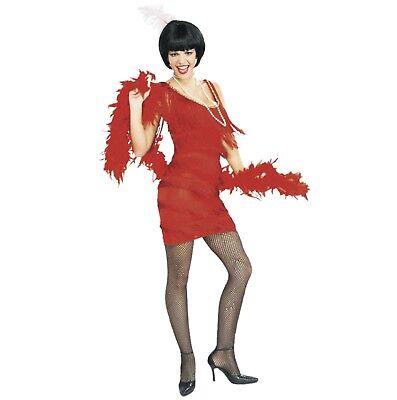 asching Kostüm Charleston Flapper rot 20er Jahre Sexy M (20 Halloween-kostüm)