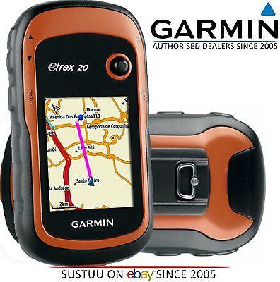 Garmin eTrex 20 GPS Outdoor Handheld Colour Map Navigator with Worldwide Basemap