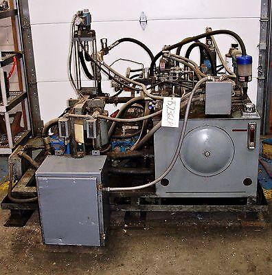 Sls1d32 Twin Pumps Hydraulic Power Supply Unit 7.5hp 15236lr