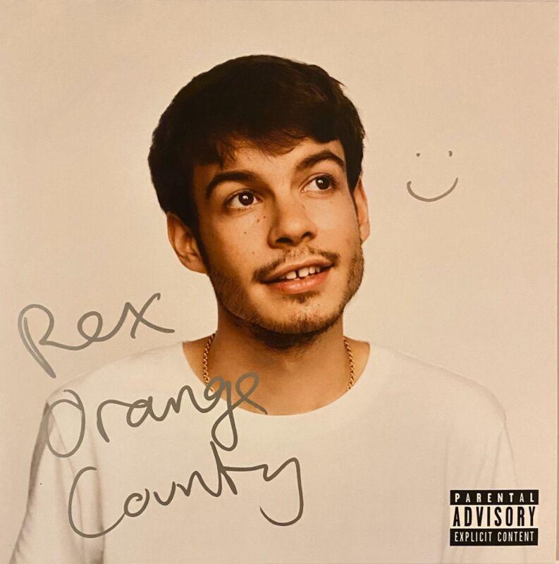 Rex Orange County Signed Autographed Pony Vinyl Record RARE