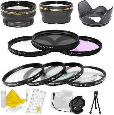 52mm Big Value Bundle For Nikon D800,d600,d610,d4,d3,d3s,...