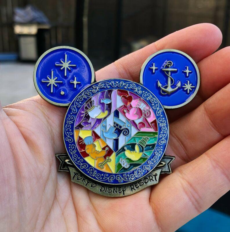 Blue Limited Edition Tokyo Disney Resort Coin, Japan Travel Sourvenir