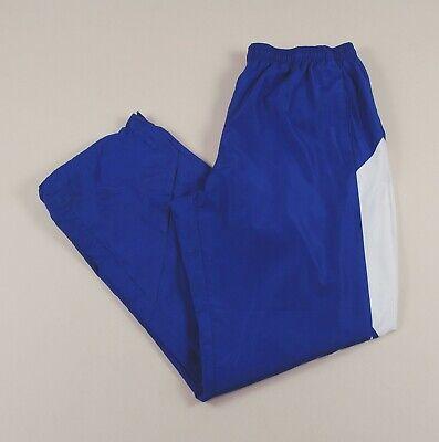 ADIDAS Blue Sports Bottoms Joggers Track Pants Size Men's Large /T4094