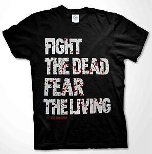 The Walking Dead t-shirt ZOMBIE WALKERS AMC SHOW DARYL DIXON Fan ...