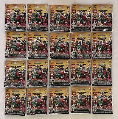 LEGO MINIFIGURES (71017) - LEGO Batman Movie - Complete Set - Factory Sealed!!