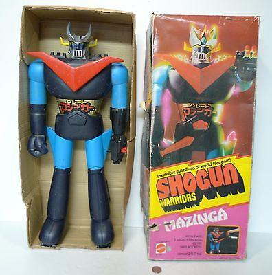 "Vintage Mattel Shogun Warriors Mazinga 24"" Jumbo Warrior in original box 1976 !!"