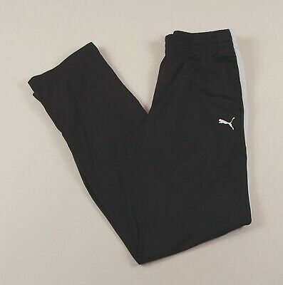 PUMA Black Jogging Bottoms Joggers Track Pants Size Women's Medium /T2022